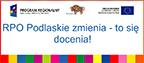 baner prowadzący do Serwisu Regionalnego Programu Województwa Podlaskiego